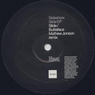 Sideshow / Slide EP label