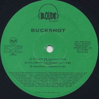 Buckshot / No Joke/Follow Me back