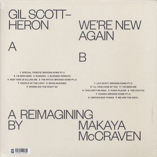Gil Scott-Heron / We're New Again (A Reimagining By Makaya McCraven) back