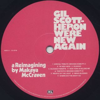 Gil Scott-Heron / We're New Again (A Reimagining By Makaya McCraven) label