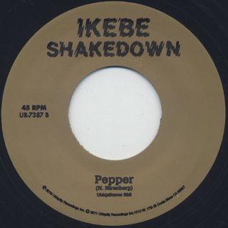 Ikebe Shakedown / Asa-Sa back