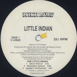 Little Indian / One Little Indian label