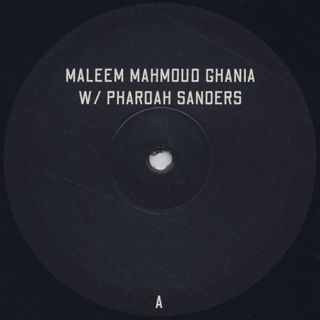 Maleem Mahmoud Ghania with Pharoah Sanders / The Trance Of Seven Colors label