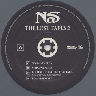 Nas / The Lost Tapes II label