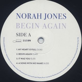 Norah Jones / Begin Again label