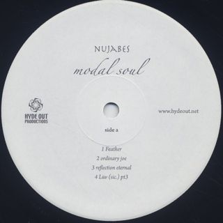 Nujabes / Modal Soul (2LP) label