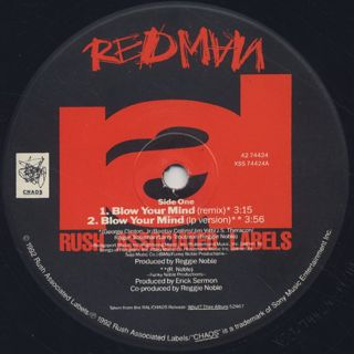 Redman / Blow Your Mind label