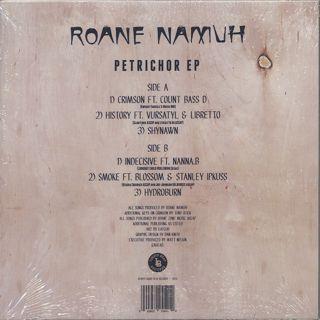 Roane Namuh / Petrichor EP back