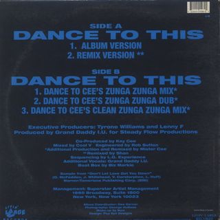 Shante / Dance To This back