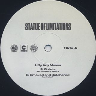 Smoke DZA & Benny The Butcher / Statue of Limitations label