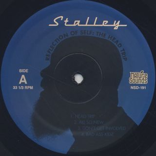 Stalley / Reflection Of Self: The Head Trip label
