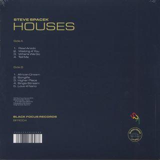Steve Spacek / Houses back