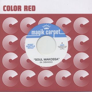 West Seattle Soul / Soul Makossa c/w The Pulsations / Black River