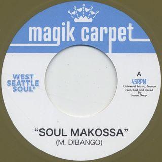 West Seattle Soul / Soul Makossa c/w The Pulsations / Black River back