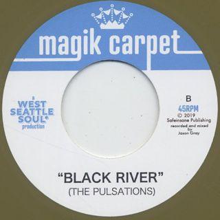 West Seattle Soul / Soul Makossa c/w The Pulsations / Black River label