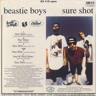Beastie Boys / Sure Shot back