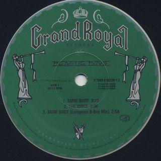 Beastie Boys / Sure Shot label