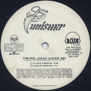 Big Punisher / Twinz (Deep Cover '98) back