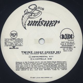 Big Punisher / Twinz (Deep Cover '98) label
