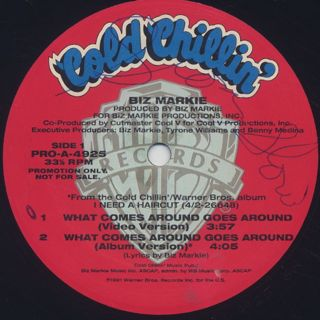 Biz Markie / What Comes Around Goes Around label
