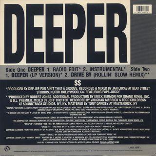 Bo$$ / Deeper back