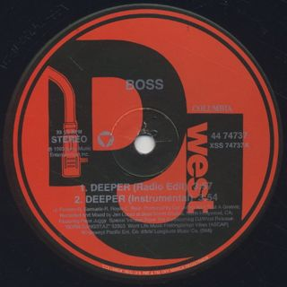 Bo$$ / Deeper label