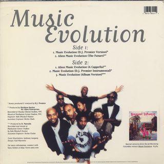 Buckshot Lefonque / Music Evolution back