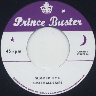 Busters All Stars / Summer Time front