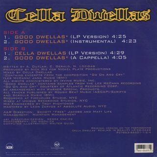 Cella Dwellas / Good Dwellas back