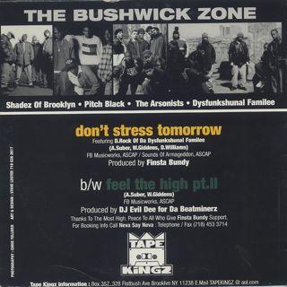 Finsta Bundy / Don't Stress Tomorrow back