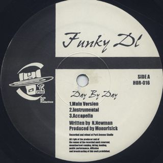 Funky DL / Day By Day label