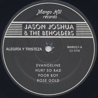 Jason Joshua & The Beholders / Alegria Y Tristeza label