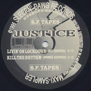 Just-Ice / Kill The Rhythm (Like A Homicide) (EP) back