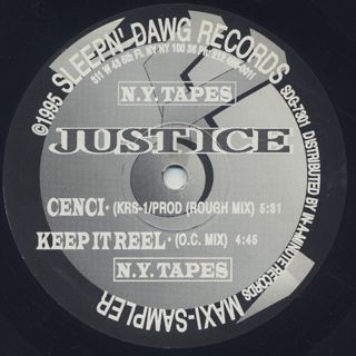 Just-Ice / Kill The Rhythm (Like A Homicide) (EP) label
