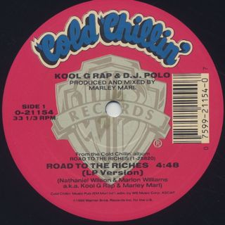 Kool G Rap & DJ Polo / Road To The Riches label