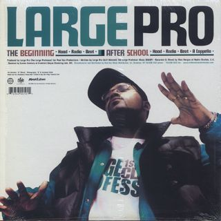 Large Pro / The Beginning back