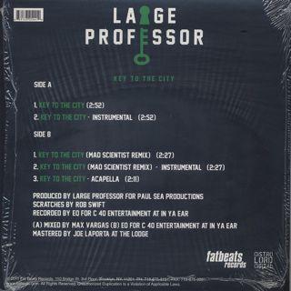 Large Professor / Key To The City back