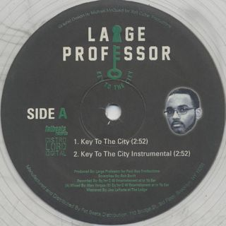 Large Professor / Key To The City label