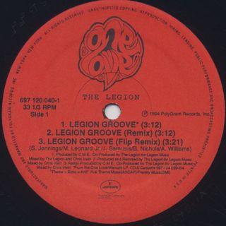 Legion / Legion Groove label