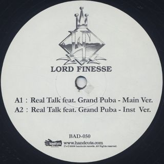 Lord Finesse / Real Talk back