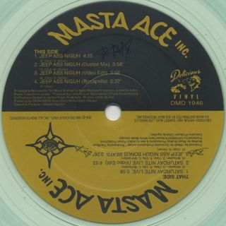 Masta Ace Incorporated / Jeep Ass Niguh back