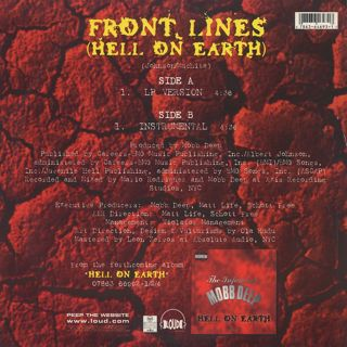 Mobb Deep / Front Lines (Hell On Earth) back