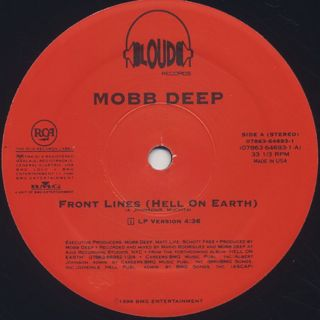 Mobb Deep / Front Lines (Hell On Earth) label