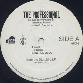O.C. / The Professional label