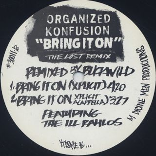 Organized Konfusion / Bring It On (The Lost Remix) back