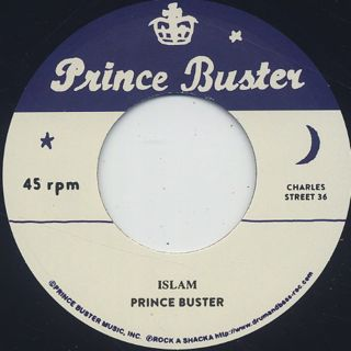 Prince Buster / Islam front
