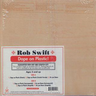 Rob Swift / Dope On Plastic back