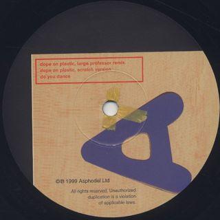 Rob Swift / Dope On Plastic label