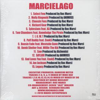 Roc Marciano / Marcielago back