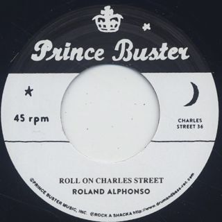 Roland Alphonso / Roll On Charles Street back